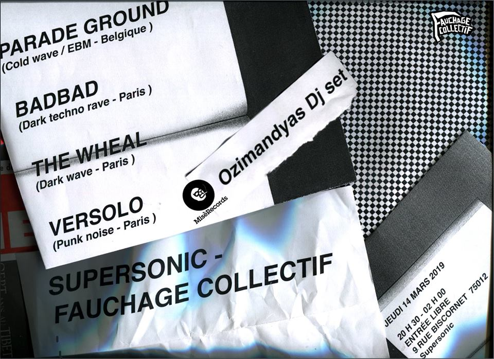 Affiche Supersonic